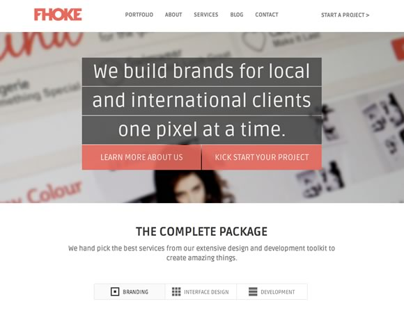 Fhoke big image website