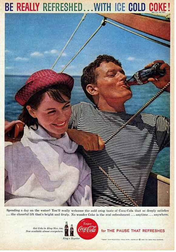 Coca Cola Vintage advertising
