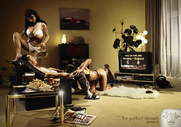 Sexuality in advertising