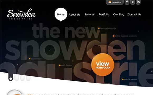 attractive website design