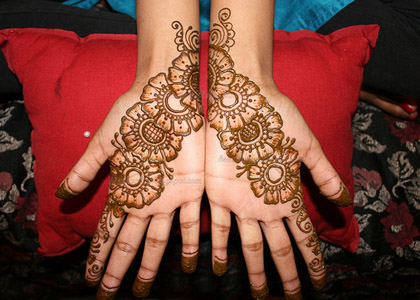 Arabic Henna Tattoo Designs On Hands
