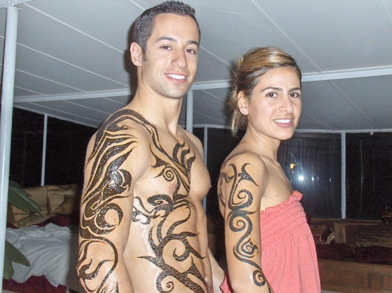 Henna Tattoo Designs For Couples