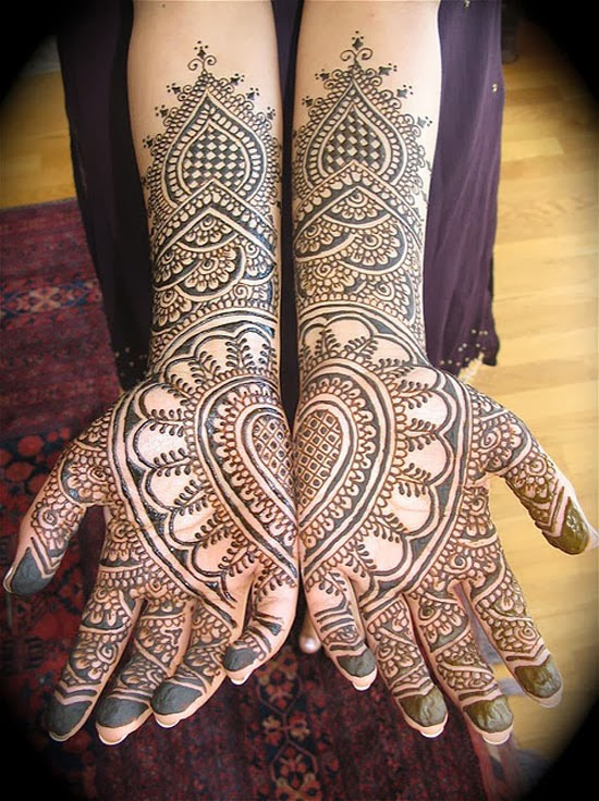 Mehndi Patterns Bridal : Awesome bridal mehndi designs that will enhance your