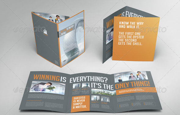 Beautiful Trifold Brochure Templates  Desiznworld