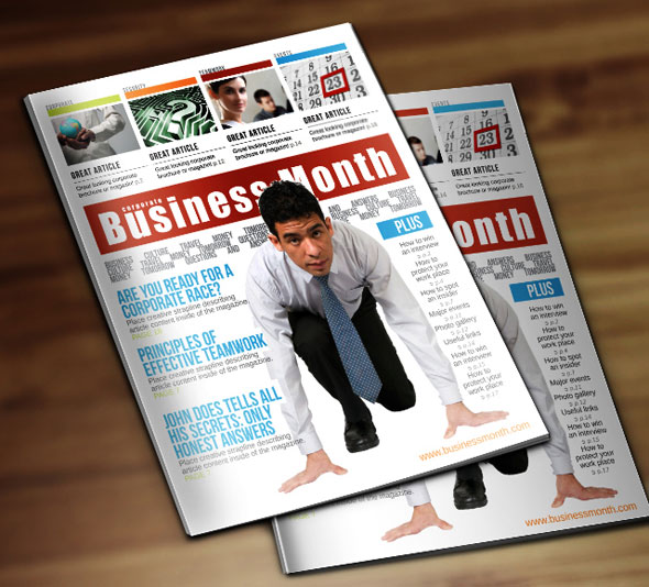 Business-Week-Corporate-Magazine-template