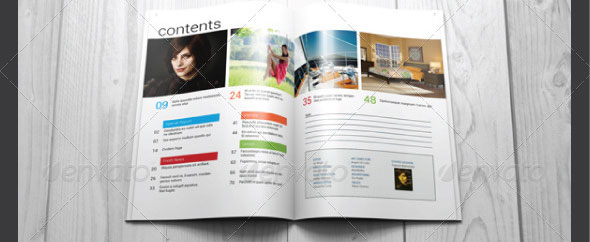 Clean-Magazine-Template
