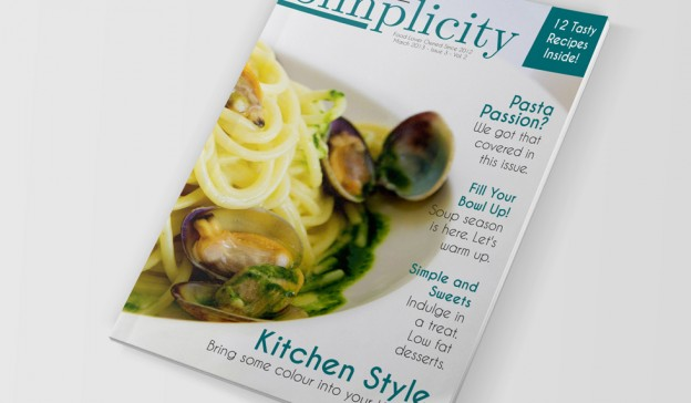 Food Magazine Template Indesign CS4+ Free