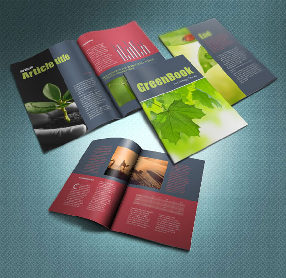 30 professional free premium indesign magazine for Free brochure templates for indesign