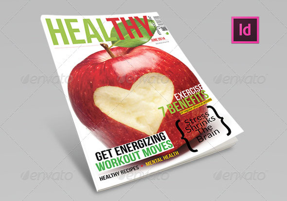 Healthy-Magazine-Template