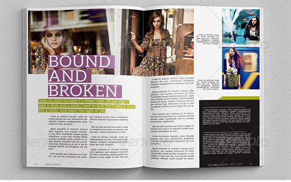 30+ Professional Free & Premium InDesign Magazine Templates ...