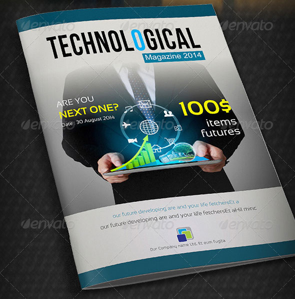 Technological-Magazine-Template
