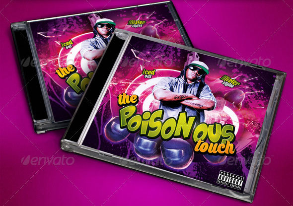 The-Poisonous-Touch-Mixtape-Flyer-or-CD-Template