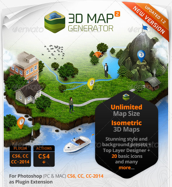 3D-Map-Generator-2-Isometric