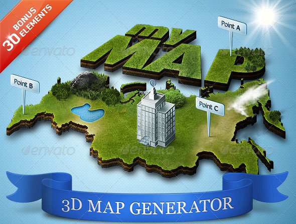 3D-Map-Generator-Action