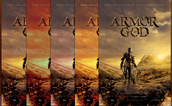 Armor-of-God-Movie-Poster-Template