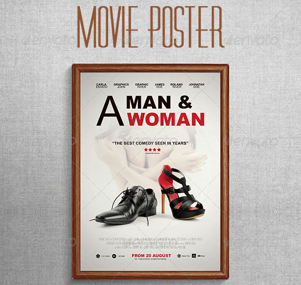 Comedy-Movie-Poster-Template
