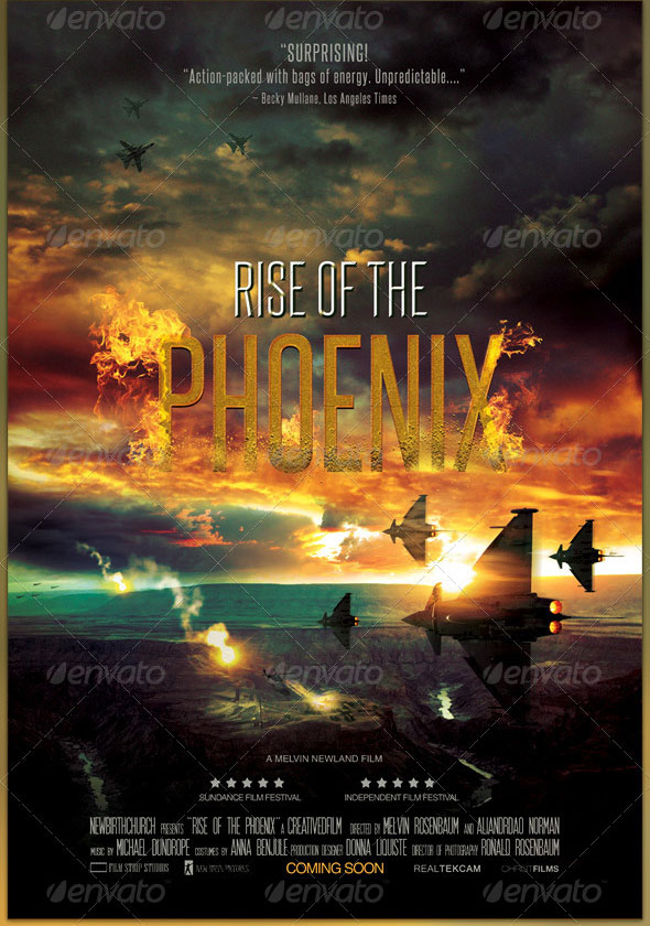 Phoenix-Movie-Poster-Template