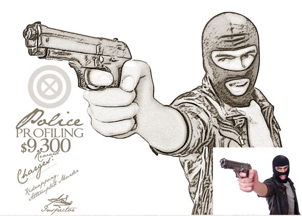 Pure-Art-Hand-Drawing-100-Police-Profiling