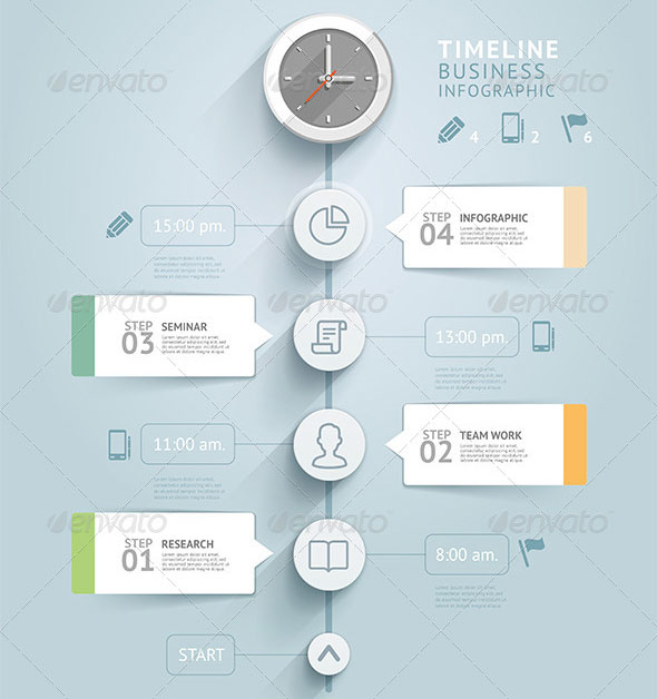 64 free premium infographic elements desiznworld