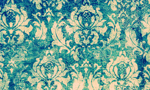 Grunge Damask Wallpaper