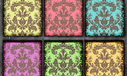 Damask Brites Patterns