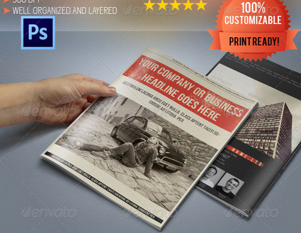 A5-Retro-Bi-Fold-Business-Brochure