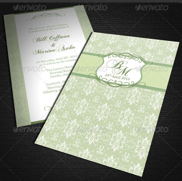 Floral-Wedding-Card