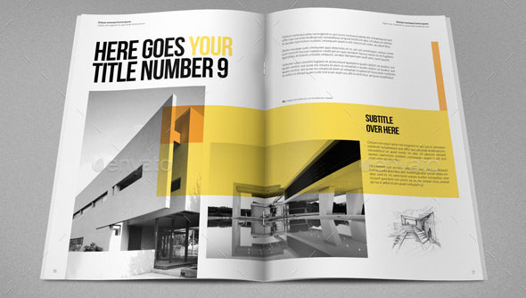 19 minimal indesign magazine templates desiznworld for D architecture magazine