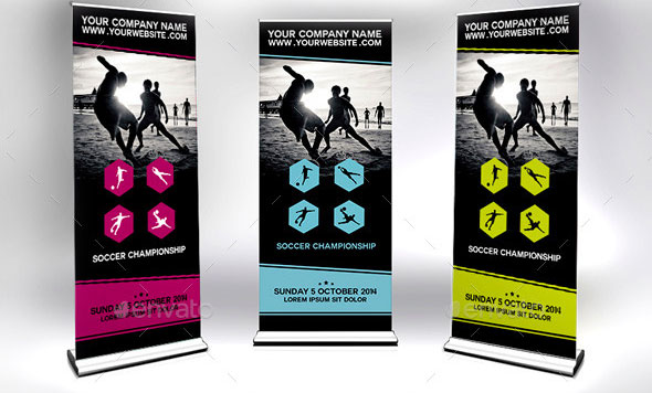 Roll-Up-Banners-Signage---Sports