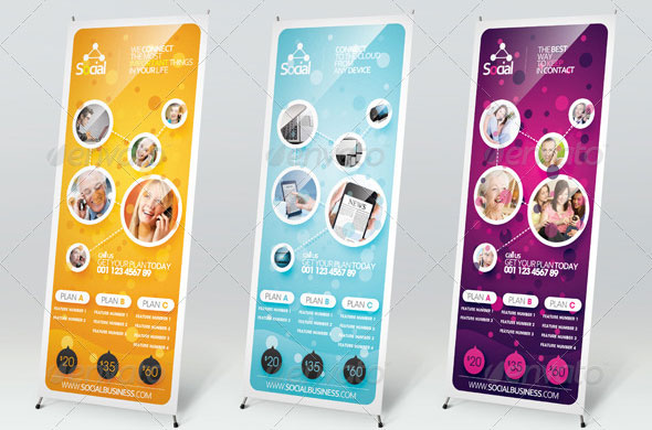 Social-Outdoor-Banner-Signage