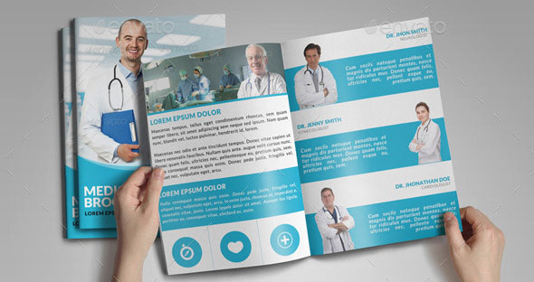 Medical Brochure Templates  Free Psd Ai Vector Eps Customize