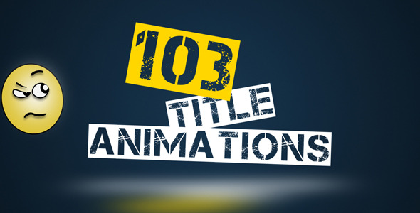 103 Title Animation