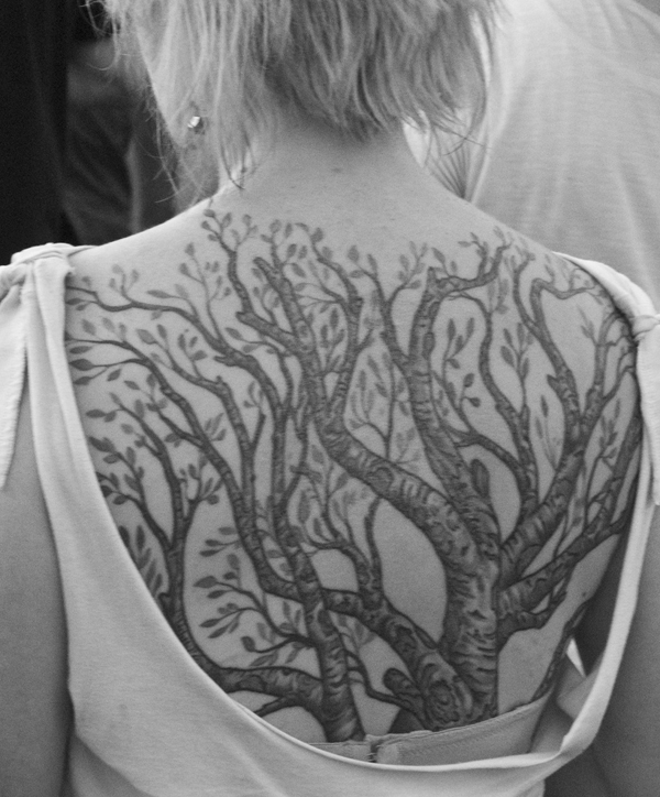 the black tree tattoo