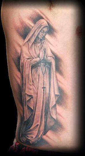 Mother marry tattoo