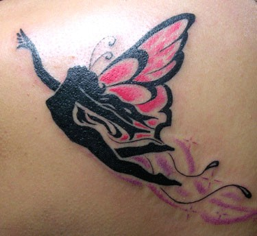 Flying angel Tattoo