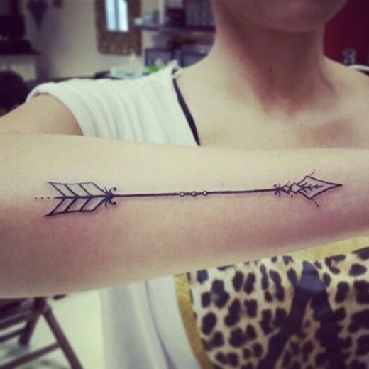 Arrow tattoo on hand Arrow Tattoo