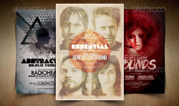 Alternative Flyer Poster Bundle Vol
