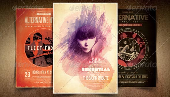 Alternative Flyer Poster Bundle