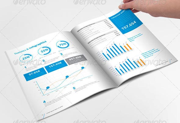 20+ Professional InDesign Annual Report Templates – Desiznworld