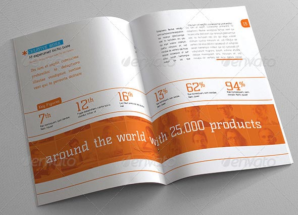 Annual Report Template Design  NinjaTurtletechrepairsCo