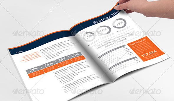 48 professional indesign annual report templates desiznworld