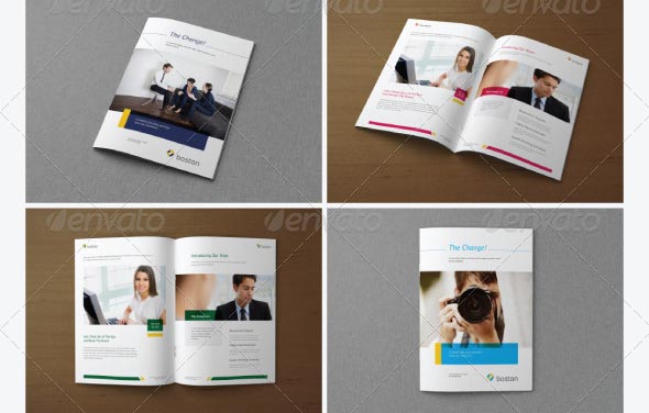 Brochure Catalog Magazine Mockups