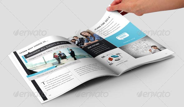 Professional InDesign Annual Report Templates Desiznworld - Brochure indesign templates