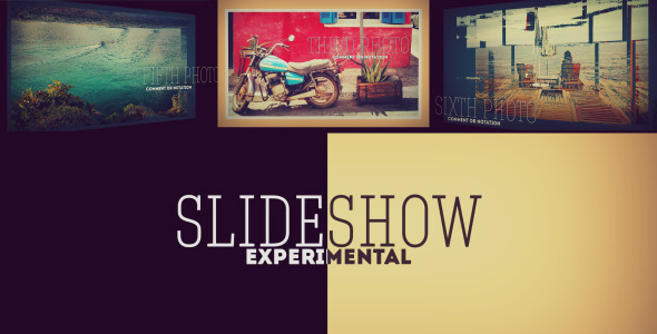 Experimental 3D Photo Slideshow