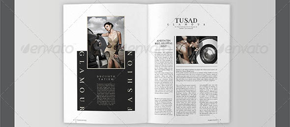 Fashion Magazine Template 02