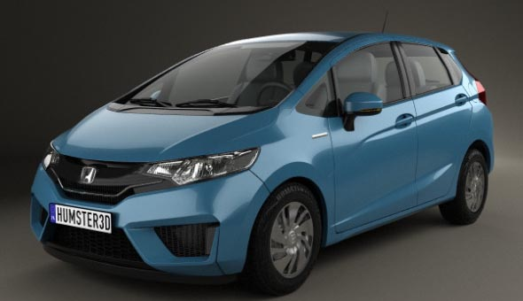 Honda Fit (Jazz) 2014