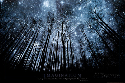 Imagination Keep Your Eyes on the Stars and Your Feet on the Ground