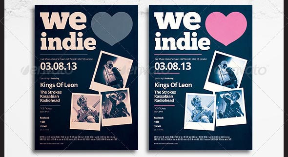 Indie Flyer Poster 10