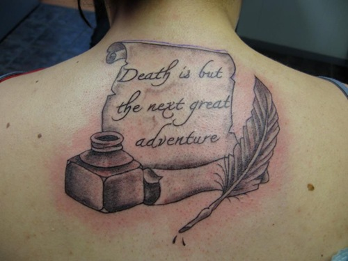 Harry potter quote tattoo