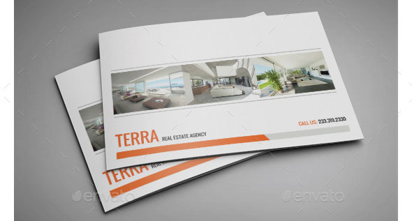 Real Estate Agency A4 InDesign Profile 0011